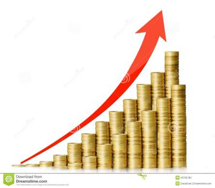saving-money-coins-graph-stock-market-go-up-43705180